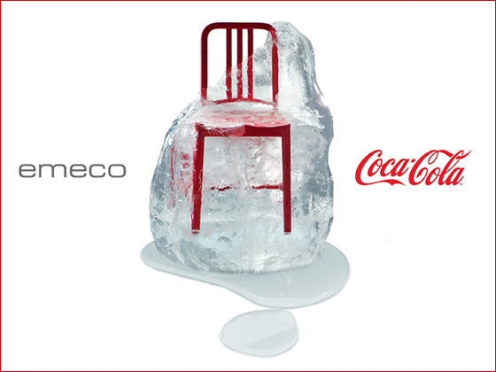 The Coca Cola Company And Emeco Have Combined Their Most Iconic Products,  The Coca Cola Contour Bottle Package And The Famous Navy Chair, To Create A  New ...